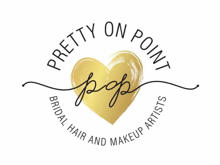 Pretty on Point round logo