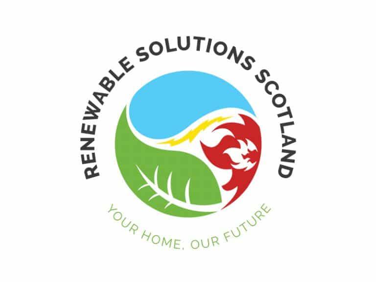 Renewable Solutions Scotland Round Logo